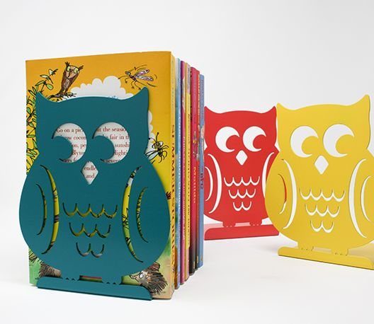 Bookend Woodland Owl