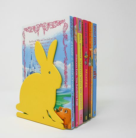 Bookend Woodland Bunny